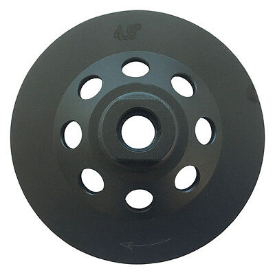 """4.5"""" PCD Grinding Cup Wheel Epoxy Glue Mastic Paint Removal 5 Segments 3"""
