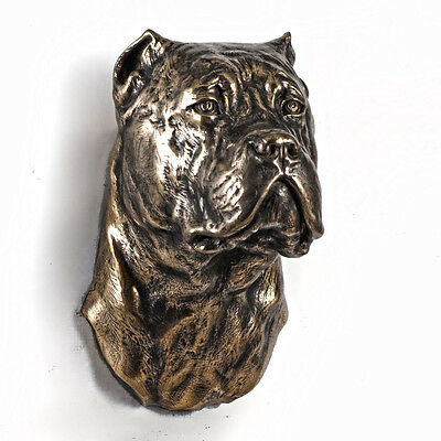 Cane Corso, dog statuette to hang on the wall, UK 3