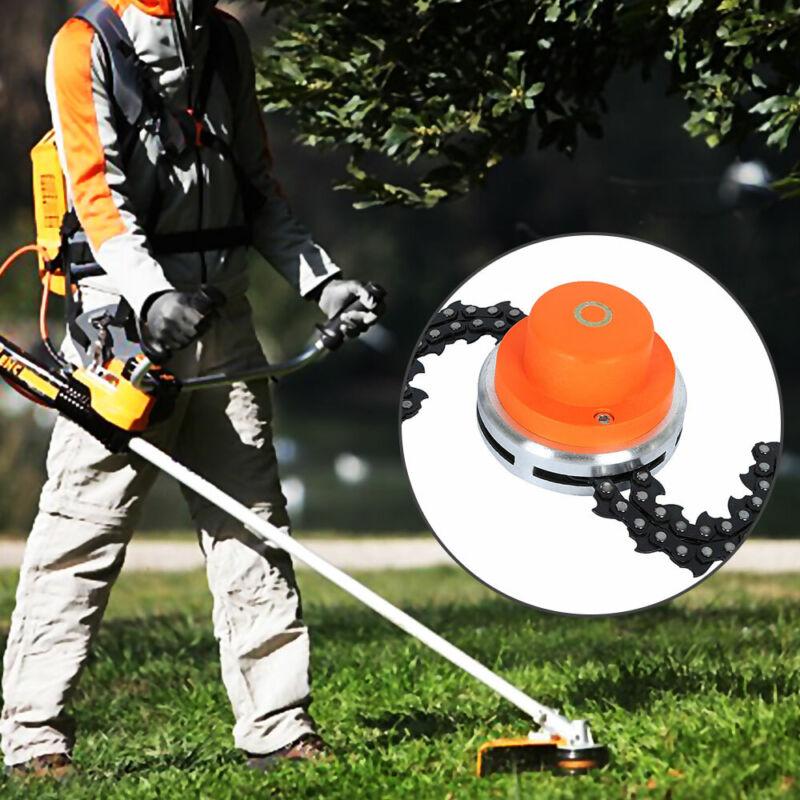 65Mn tondeuse tête bobine chaîne brosse jardin herbe pour tondeuse à gazon 3