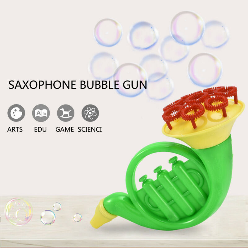 Water Blowing Toys Bubble Soap Bubble Blower Outdoor Kids Child Toy Style Random 2