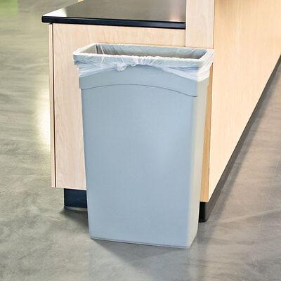 "20-30 Gallon 10 Micron 30"" x 37"" High Density Can Liner / Trash Bag - 500/CS"