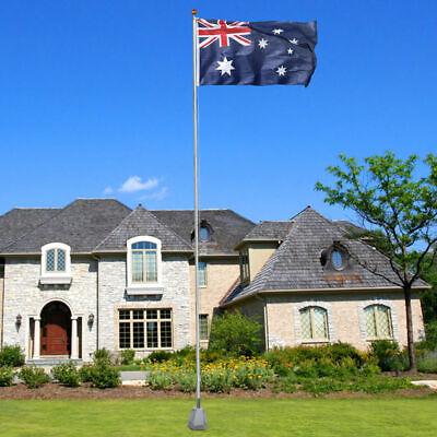 7.1M meter Aluminium Australian Aussie Flag Pole Flagpole Full Set 5