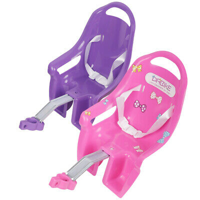 Bike Doll Carrier Seat Kids Girls Seats Post Dolls Holder Stickers Bicycle Kit 11