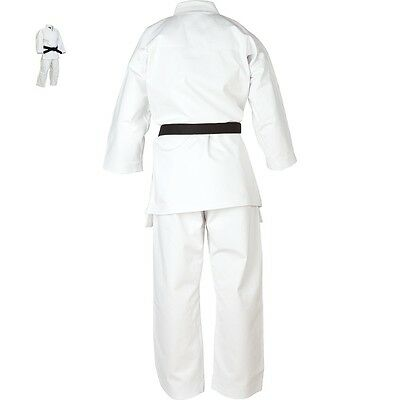 KARATE UNIFORM GI BEST QUALITY & EASY FIT UNIFORMS 8Oz 100% COTTON