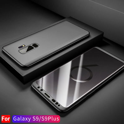 For Samsung Galaxy S9 /S10 Plus 360° Full Body Hard Case +Screen Protector Cover 5