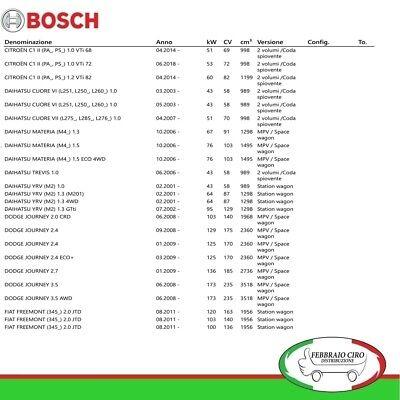 SPATOLA SPAZZOLA TERGI POSTERIORE BOSCH REAR A330H 3397008006-330mm