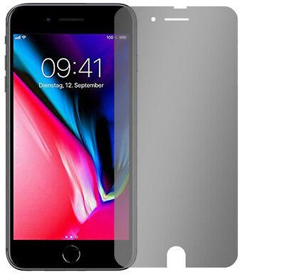 Slabo Blickschutzfolie für iPhone 7 Plus / iPhone 8 Plus (1er Set) SCHWARZ