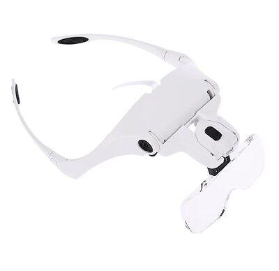 Lupa de Relojero Joyero Reparar Electrónica Soldar precisión gafas para Leer 3