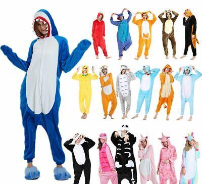 NUOVO pigiama intero animale kigurumi unisex costume da XMAS carnevale cosplayIT 2
