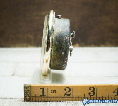 Vintage Clock Slava Mid Century Ussr 11 Jewels Miniature Clock Film Prop 6