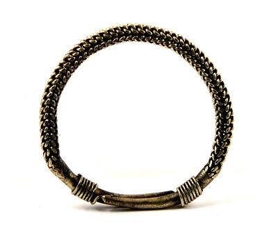 China a Miao Hmong silver twisted bracelet 2