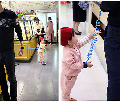 Toddler Kids Baby Safety Walking Anti-lost Harness Strap Wrist Leash Belt Hand 12