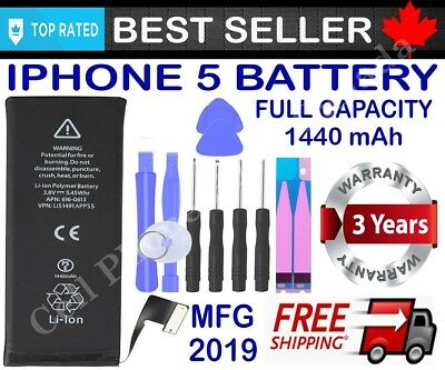 Brand New Replacement Battery Compatible For iPhone 5 5S 5SE With Free Tools 2