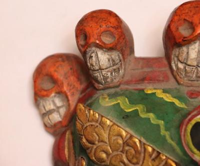 China Hand Art Carved Conventional Painted Wood Ghost Ghosts And Hods Mask 9