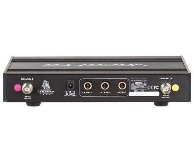 VocoPro UHF-3200 UHF Dual Channel Wireless Microphone 900 MHz