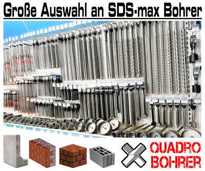 SDS Max Bohrer 35 x 600 mm Quadro X 4 Schneiden Betonbohrer Steinbohrer