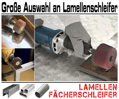 5 x Lamellen Fächer Schleifer Schleiffächer Schleifmop Schleifstift Ø 60mm K80