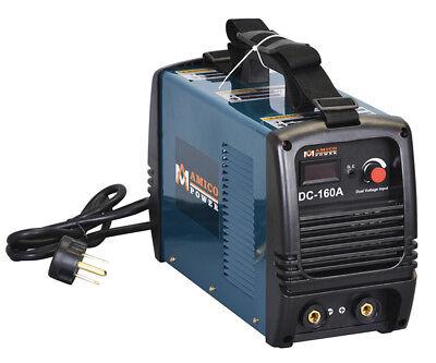 160 Amp Stick ARC DC Welder 115/230V Dual Voltage Welding Soldering Machine