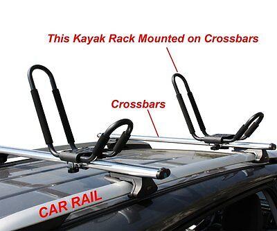 Surf Rack For Car >> Kayak Carrier Boat Ski Surf Snowboard Roof Mount Car Suv
