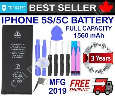 Brand New Replacement Battery Compatible For iPhone 5 5S 5SE With Free Tools 3