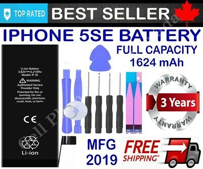 Brand New Replacement Battery Compatible For iPhone 5 5S 5SE With Free Tools 4