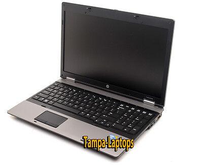 HP PROBOOK LAPTOP COMPUTER 2 CORE 2.1GHz 4GB 15.6 HD DVD WINDOWS 10 WIN WiFi PC 5