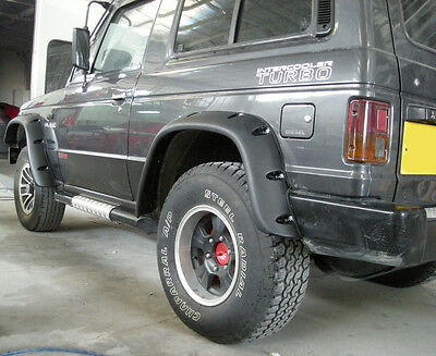 Wide Fender Flares Wheel Arches For Mitsubishi Pajero