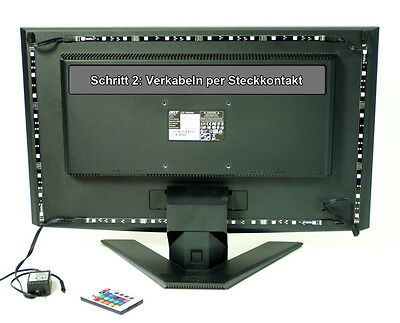 minify TV LED Hintergrundbeleuchtung RGB Komplettset LCD Fernseher-beleuchtung
