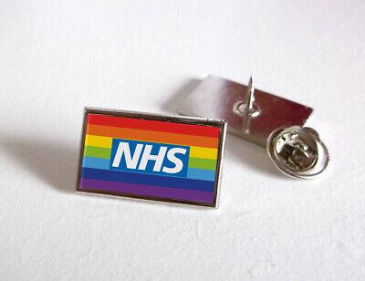 Nhs Uk Nurse Doctor Ambulance Medic Porter Paramedic Green Line Lapel Pin Badge 7