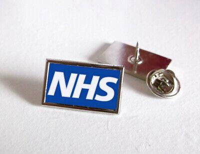Nhs Uk Nurse Doctor Ambulance Medic Porter Paramedic Green Line Lapel Pin Badge 4