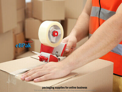 36x Sticky Packing Packaging Tape - 45 Micron Clear  - 45U - 75meter x 48mm 3