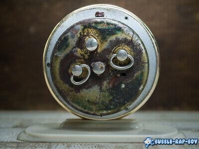 Vintage Clock Slava Mid Century Ussr 11 Jewels Miniature Clock Film Prop 9