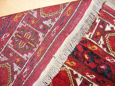 11.3x8.5 feet Antique islamic Beshir Turkmen Mosque prayer rug Saf Gebetsteppich 6 • CAD $9,059.12