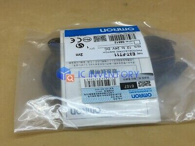 New Omron E3T-FT11 Photoelectric Switch Sensor E3TFT11 12-24VDC 2M #RS08