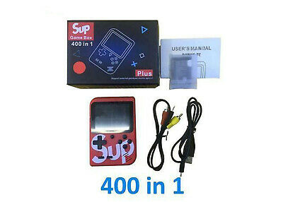 Console Portatile Videogioco 8 Bit 400 Giochi Schermo Colori Retro' Sup Game Box 5