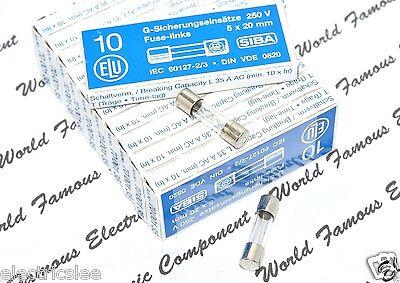 T For Audio 12,5A ELU // SIBA 12.5A 250V 5x20mm Glass Fuse 2pcs