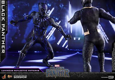 SL-001 T/'CHALLA 1//6 Black Panther Costume /& Body Set 12/'/' Figure Doll Accessorie