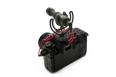 Rode VideoMicro On-Camera Cardioid Condenser Video Micro Microphone &Wind Shield 3