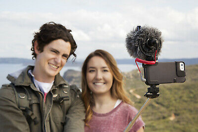 Rode VideoMicro On-Camera Cardioid Condenser Video Micro Microphone &Wind Shield 5