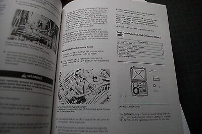CATERPILLAR 3406B ENGINE System Operation Testing Adjusting Service Manual  shop