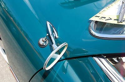 1956-1965 VW VOLKSWAGEN KARMANN GHIA CHROME DOOR MIRROR SET LH /& RH NEW 2 PIECES
