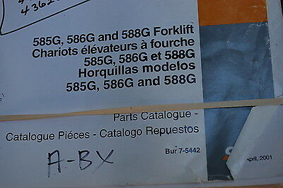 Business & Industrial Case 585G 586G 588G PARTS MANUAL CATALOG ...