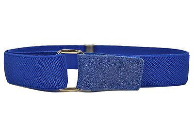 Kids Belts/Childrens Belts. Boys & Girls Elasticated Hook & Loop Belts 1-6 Yrs