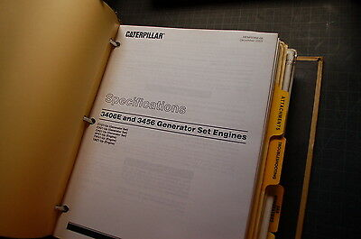 cat 3406e and 3456 engine service manual