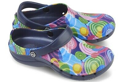 Toffeln Ezi Klog Pro Air 0815 - Circle Pattern - Womens Washable Shoes 4