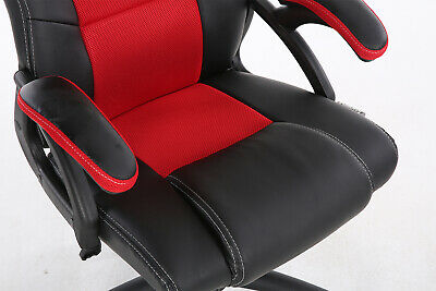 Office Chair Executive Racing Gaming Swivel Pu Leather Sport Computer Desk 11