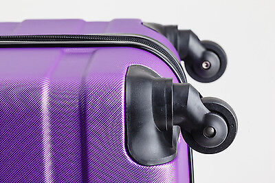 20 Inch (40L ) Suitcases Luggage Trolley Travel Bag Cabin Carry on hard case 11