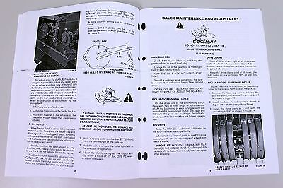 sperry new holland 315 hayliner square baler owners operators manual rh picclick com New Holland Hayliner 273 Baler New Holland 268 Hayliner