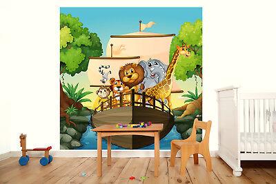 Kleistertapete oder Selbstklebende Fototapete Stadt Wimmelbild Kinderzimmer