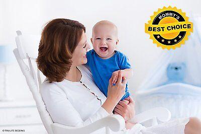NEW TRU Lite Crib Mattress Protector, white, bamboo, waterproof, hypoallergenic 4